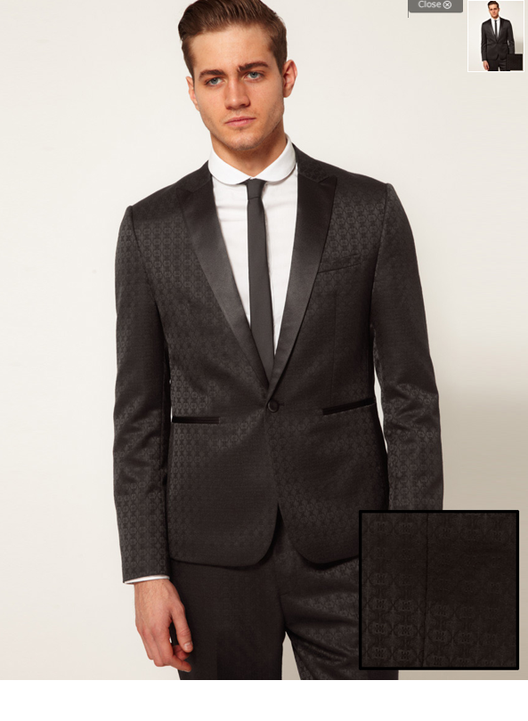 Skyfall - dark grey suit : Bond Ambition