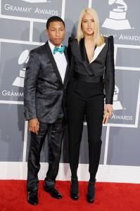 Pharrell in cheeky bow tie