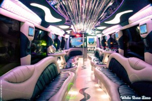 Party Buses interior