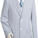 Mens-1-Cotton-Seersucker-Suits-BlueoffWhite