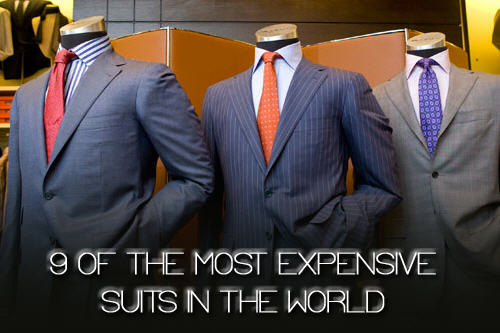 What The What? A List of the Most Expensive Suits in the World ...