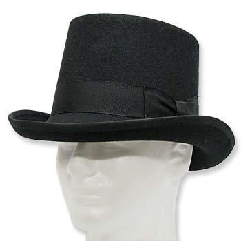 Guns N Roses Wool Top Hat Tuxedo: best hats for prom