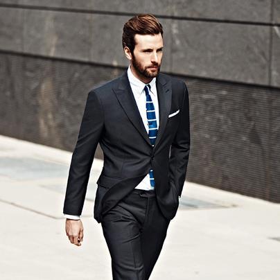 Gentlemen in suits and ties