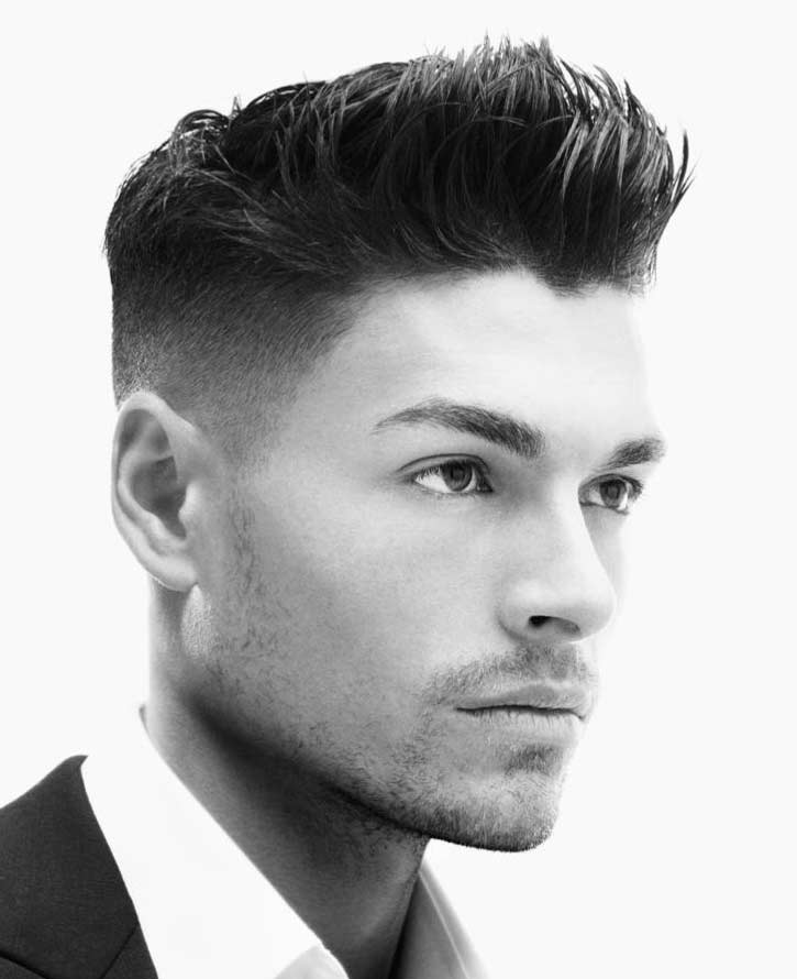 High Fade Haircut Hairstyle For Prom