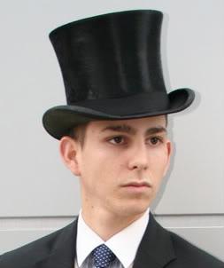 nicholasintop hat for prom