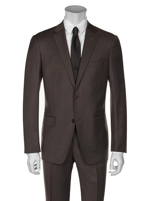 dark brown Versace Suit