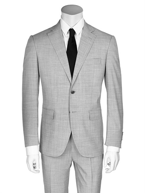 Gray Tessuto Zegna suit