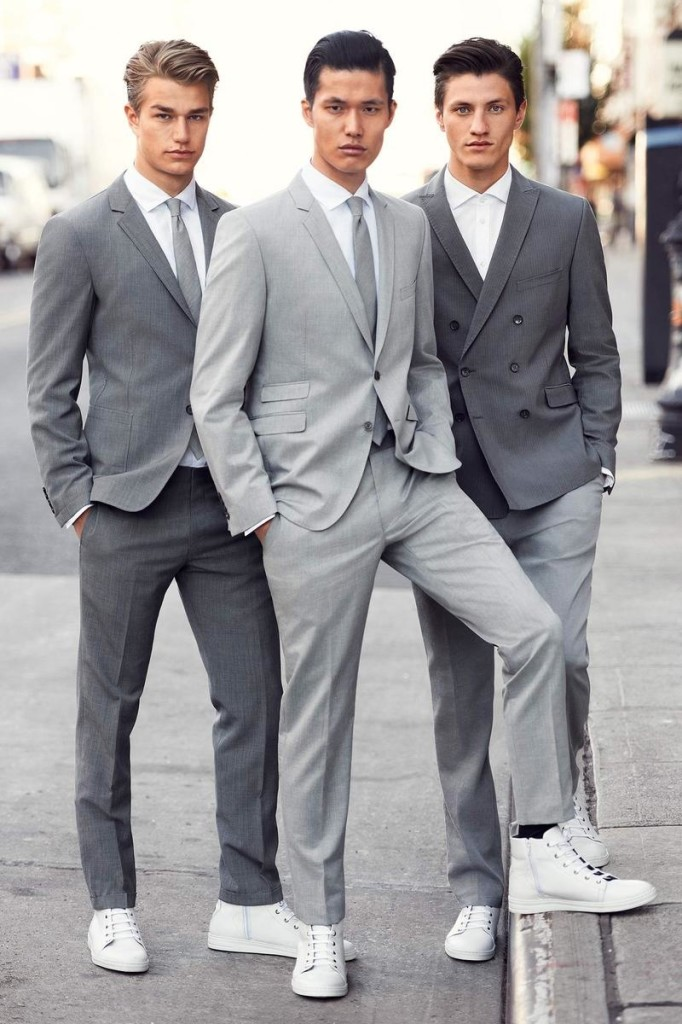 Gray Suits