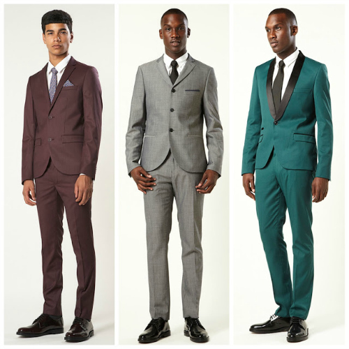 Skinny Suits Finding stores and outlets that supply good looking skinny suits is a rarity. You will not be able to get quality, size and look at the same time.